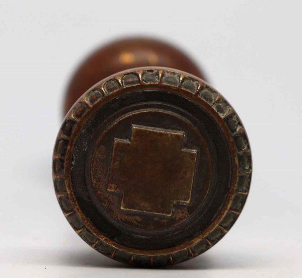 Door Knobs - Bronze Russell & Erwin Greek Andros Door Knob Set