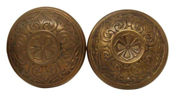 Door Knobs - Cast Bronze MCC Classic Door Knob Set