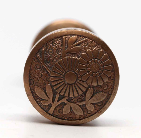 Door Knobs - Floral Bronze Vernacular Door Knob Set