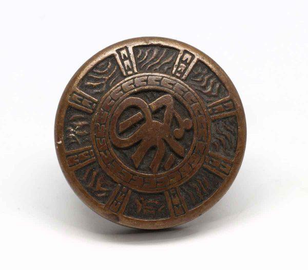Door Knobs - Mallory Wheeler Vernacular 8 Fold Bronze Door Knob