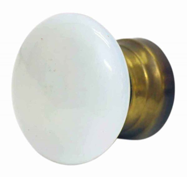 Door Knobs - Vintage Milk Glass Door Knob
