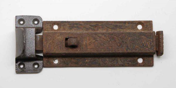 Door Locks - Original Victorian Cast Iron Door Latch