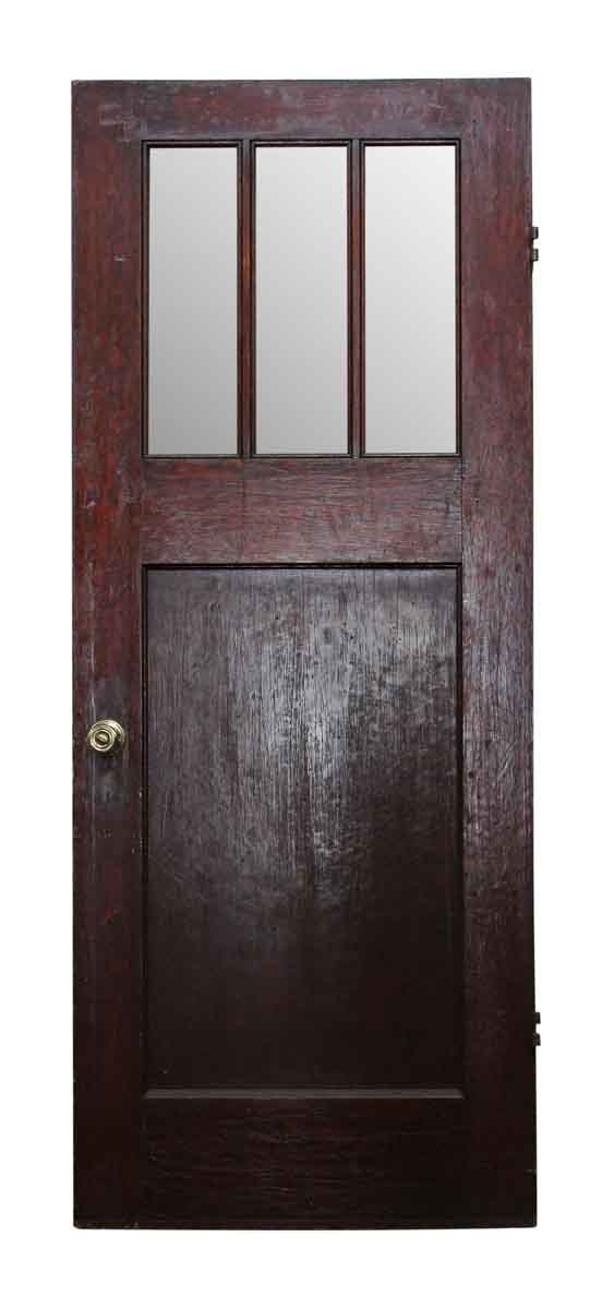 Entry Doors - Classic Arts & Crafts Wooden Entry Door