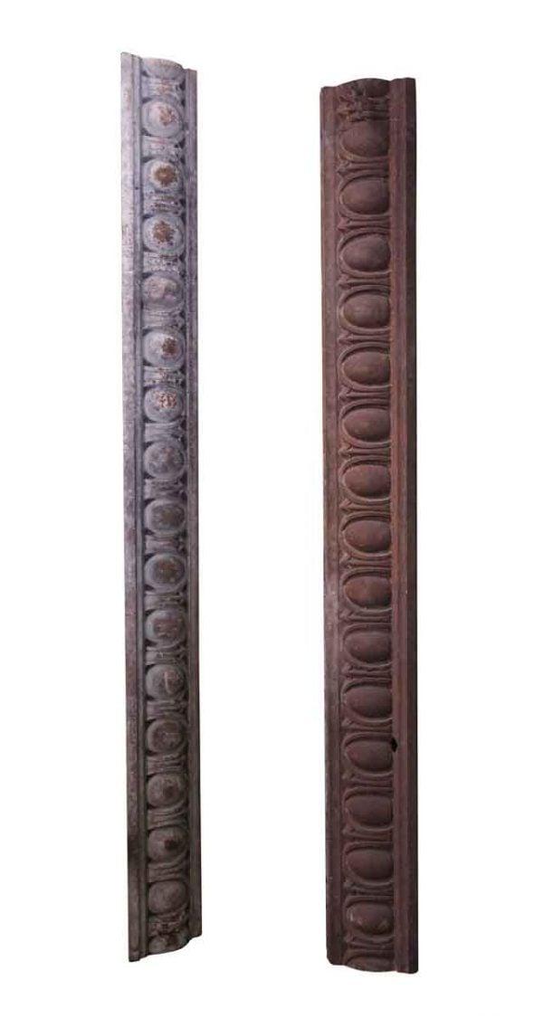 Exterior Materials - Cast Iron Lentils or Roof Trim with Egg & Dart Design