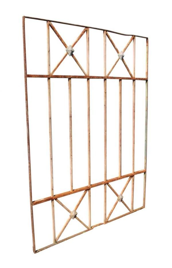 Gates - Simple Geometric Iron Gates or Window Guards