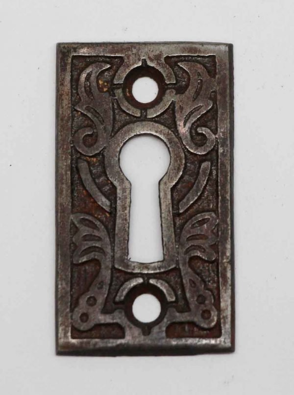 Keyhole Covers - Aesthetic Steel Finish Keyhole Cover