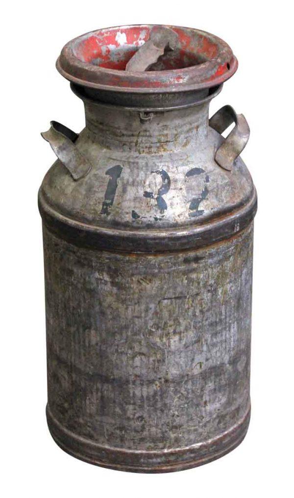 Kitchen - Antique Metal Milk Jug