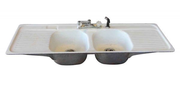 Kitchen - Double Bowl Cast Iron Kitchen Sink