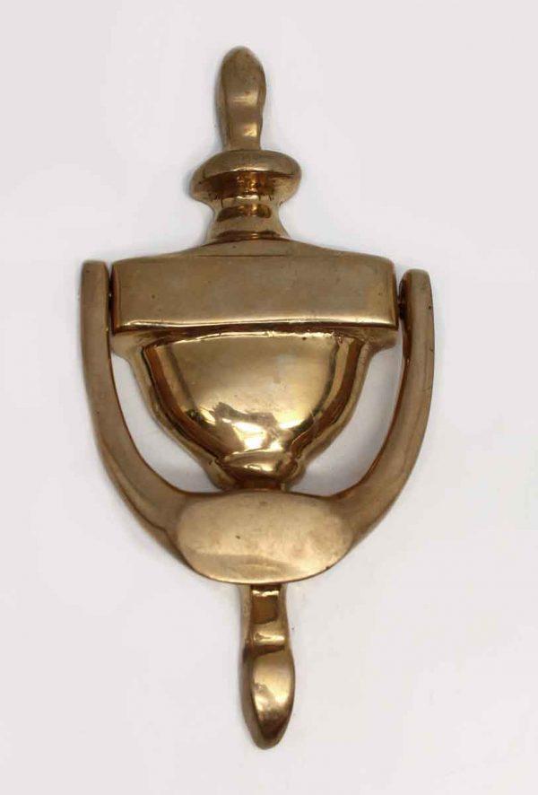 Knockers & Door Bells - Olde New Polished Brass Door Knocker
