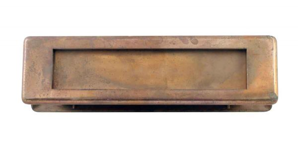 Mail Hardware - Antique Brass Door Letter Slot