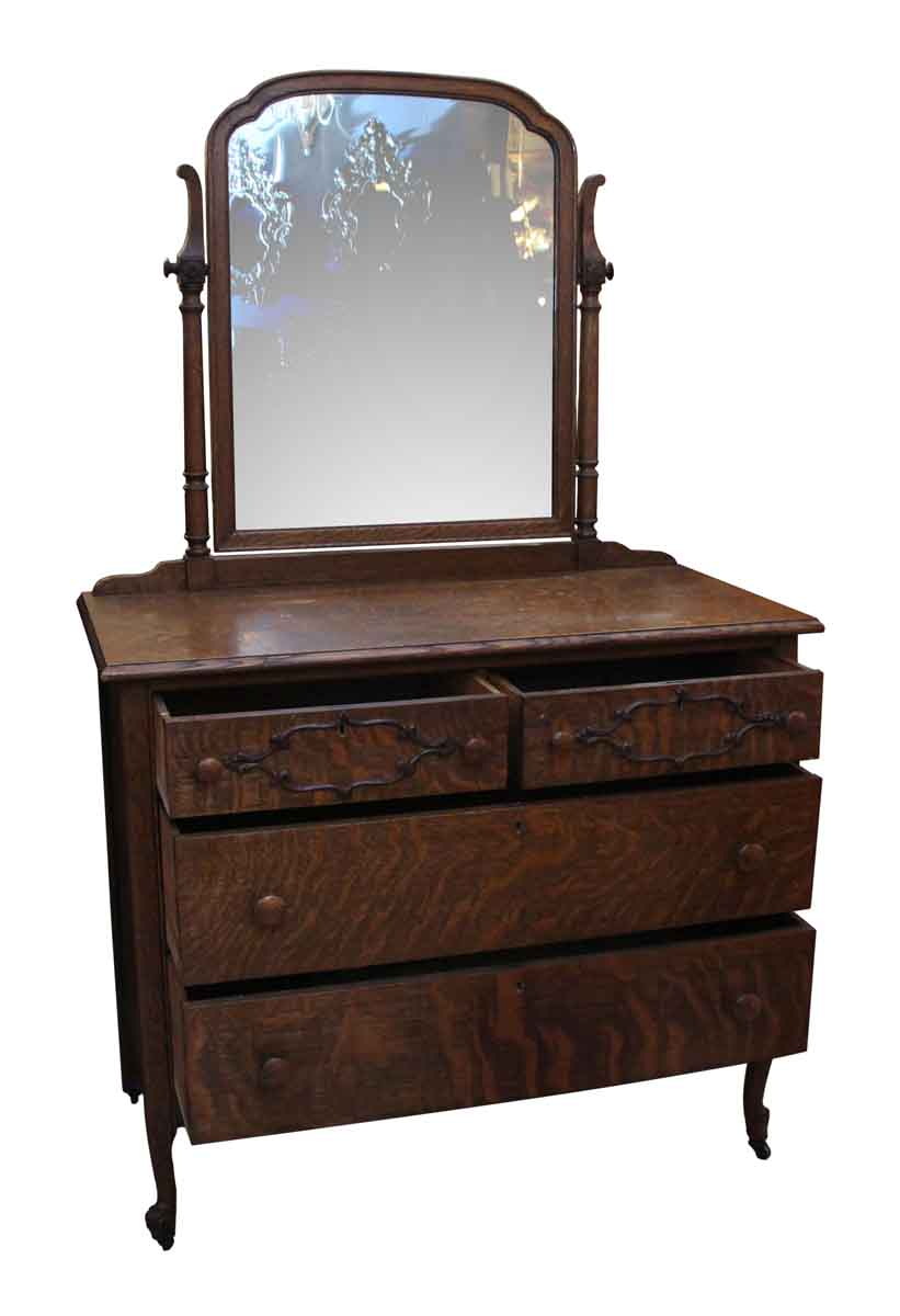 Quarter Sawn Oak Dresser With Mirror Olde Good Things