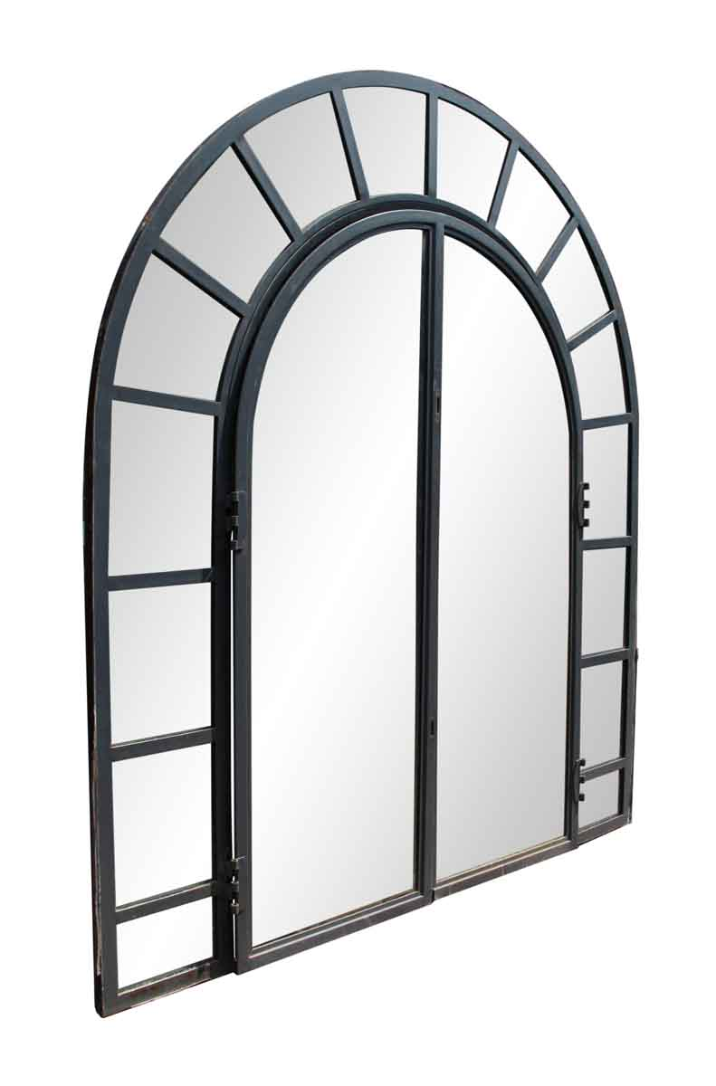 Steel Frame Arched Window | Olde Good Things
