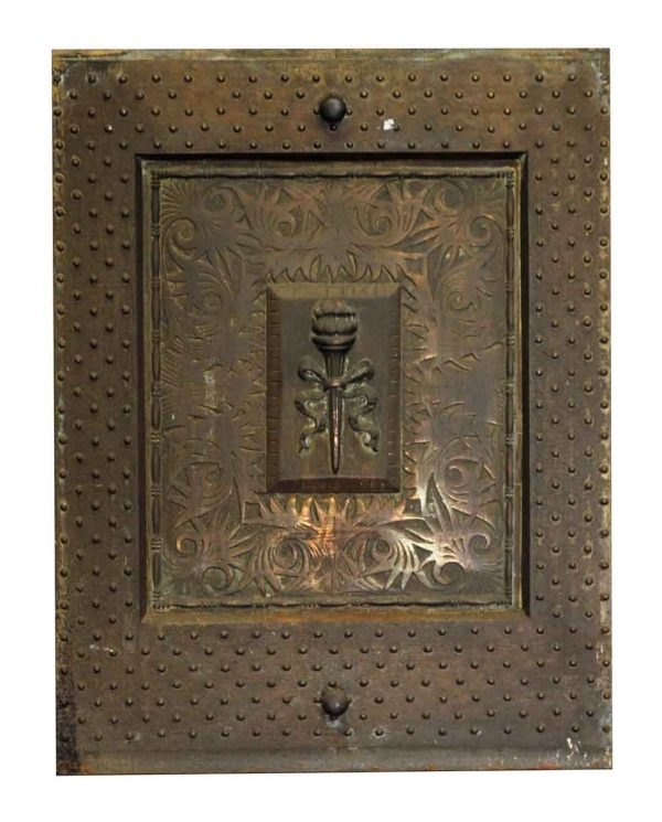 Screens & Covers - 19th Century Cast Iron Fireplace Insert