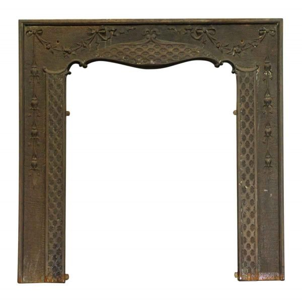 Screens & Covers - Cast Iron Victorian Fireplace Mantel Insert