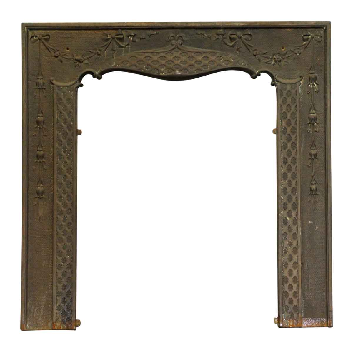 Cast Iron Victorian Fireplace Mantel Insert Olde Good Things