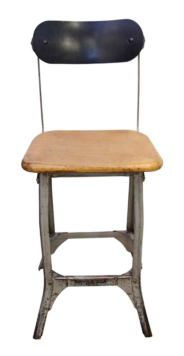 Incredible Antique Metal Wood Stool Gmtry Best Dining Table And Chair Ideas Images Gmtryco