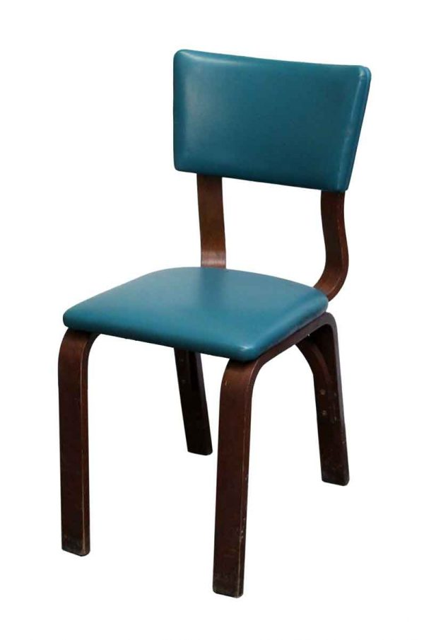 Seating - Green Bentwood Maple Thonet Chair
