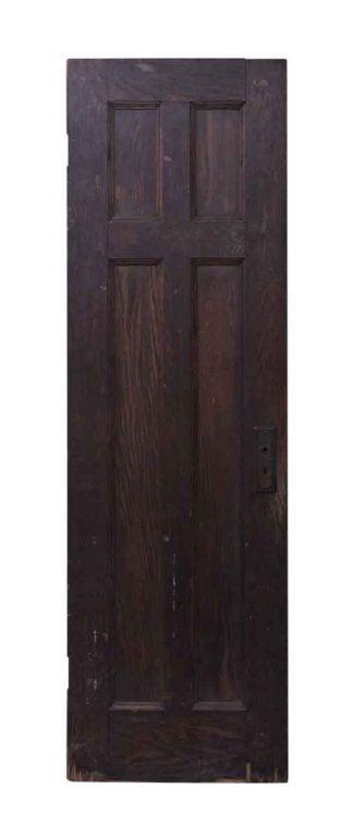 Dark Wood Tone Antique Door