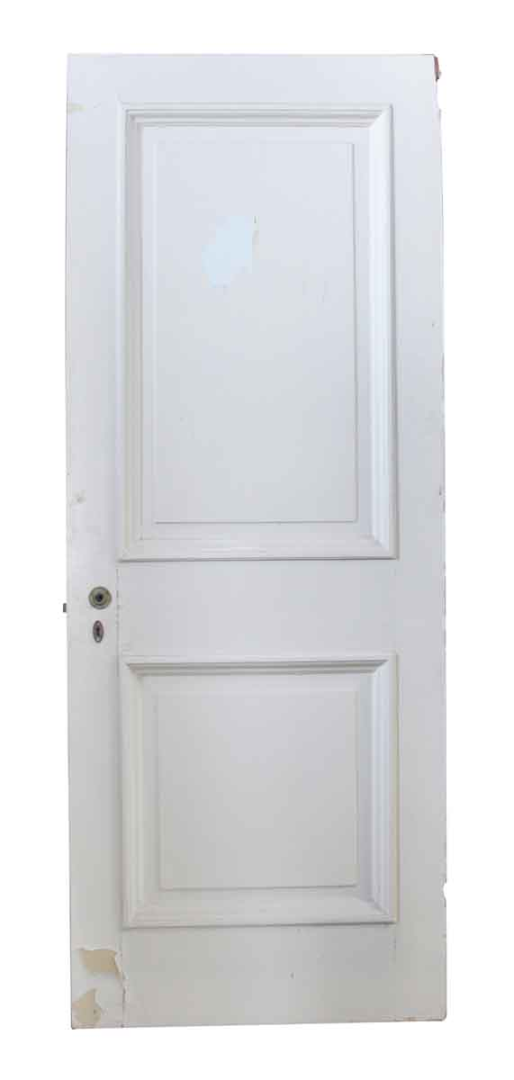 Standard Doors - Wooden Two Panel Door with Raised Molding