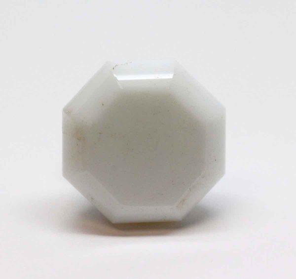 Cabinet & Furniture Knobs - White Milk Glass Drawer Knob