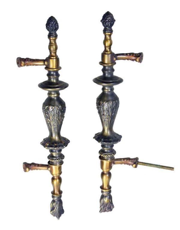Cabinet & Furniture Pulls - Antique Oversized Bronze Drawer Pulls