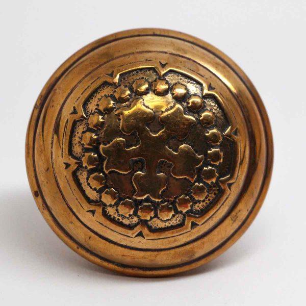 Door Knobs - Polished Brass 5 Fold Russell & Erwin Century Door Knob