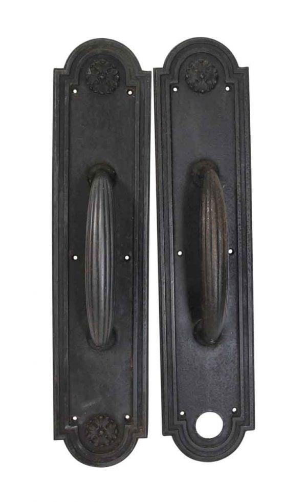 Door Pulls - Cast Iron Russell & Erwin Roland Door Pulls