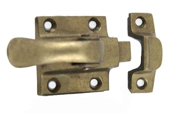 Ice Box Hardware - Antique Solid Brass Ice Box Latch