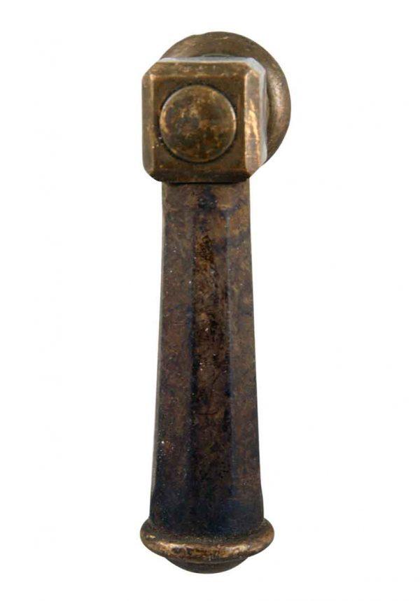 Levers - Antique Cast Bronze Safe Door Handle