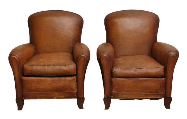 Living Room - Pair of Vintage Club Chairs