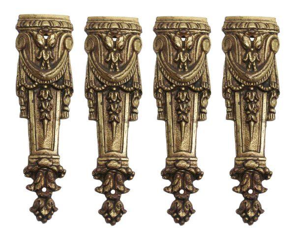 Other Cabinet Hardware - Small Decorative Bronze Furniture Appliques