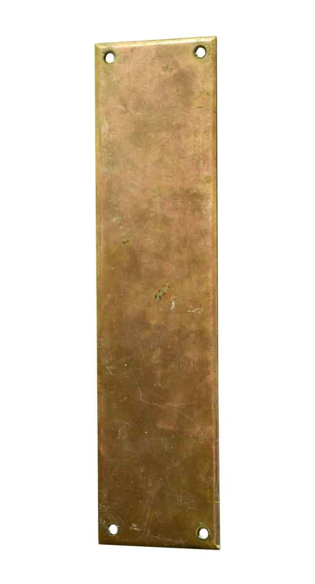 Brass Door Push Plate