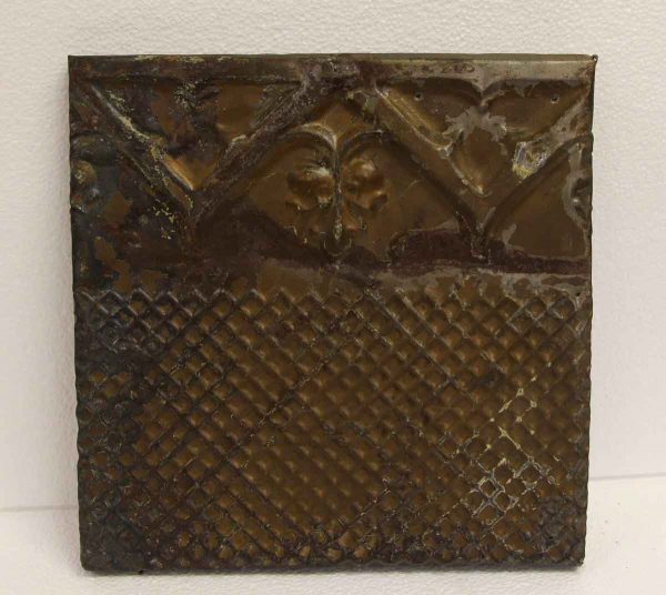 Tin Panels - Brown Antique Border Tin Panel