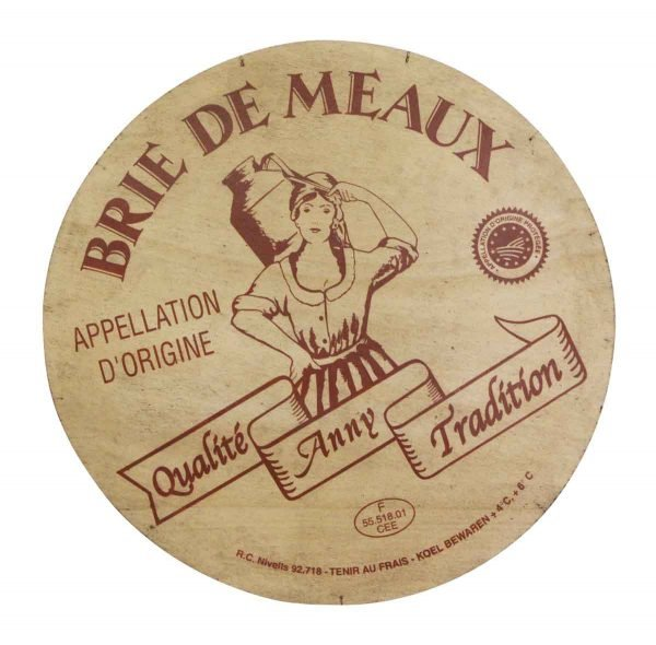 Vintage Signs - Brie Demeaux Cheese Sign
