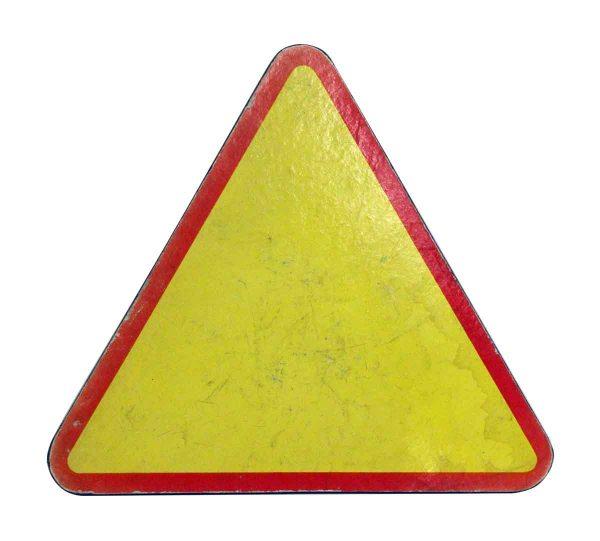 Vintage Signs - Imported Vintage Caution Sign