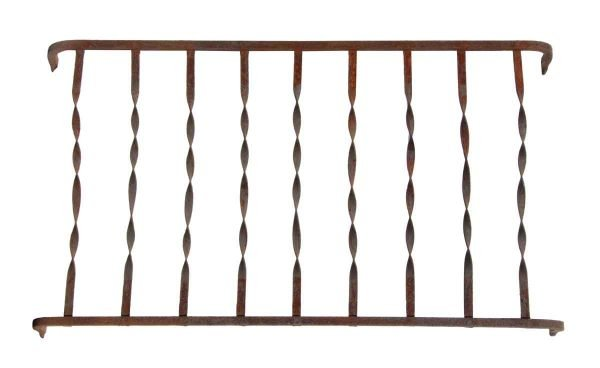 Balconies & Window Guards - Original Wrought Iron Window Guards