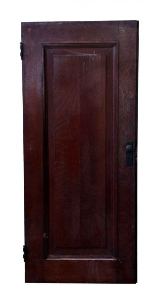 Single Panel Solid Wood Cabinet Door