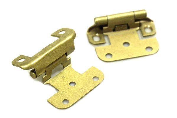 Cabinet & Furniture Hinges - Semi Concealed Brass Cabinet Hinges