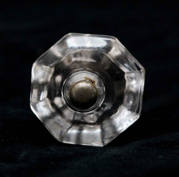 Cabinet & Furniture Knobs - 1.375 in. Vintage Octagon Glass Cabinet Knob