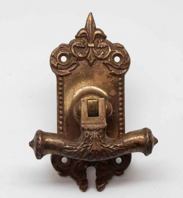 Cabinet & Furniture Pulls - Antique Bronze Cabinet Pull with Back Plate