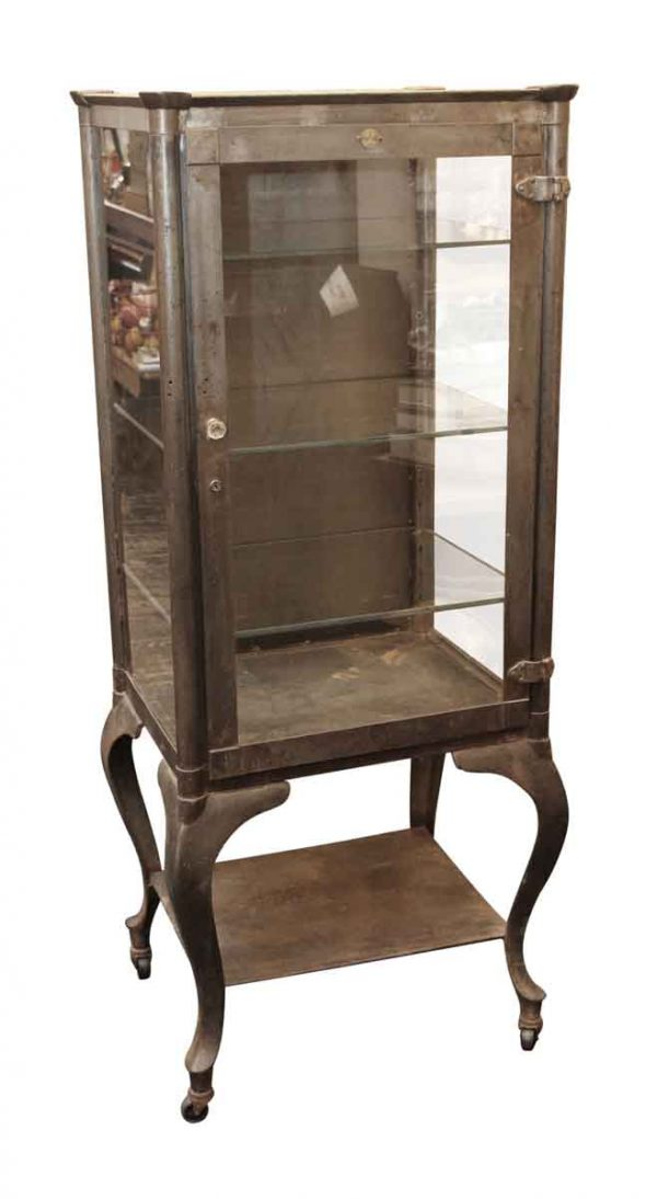 Cabinets - Columbus Aseptic Furniture Co. Stripped Vintage Medical Cabinet