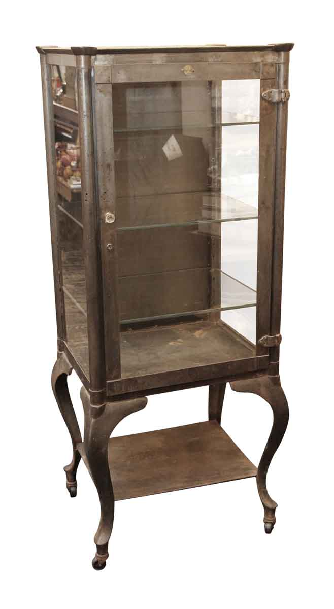 Cabinets - Columbus Aseptic Furniture Co. Stripped Vintage Medical Cabinet - Columbus Aseptic Furniture Co. Stripped Vintage Medical Cabinet