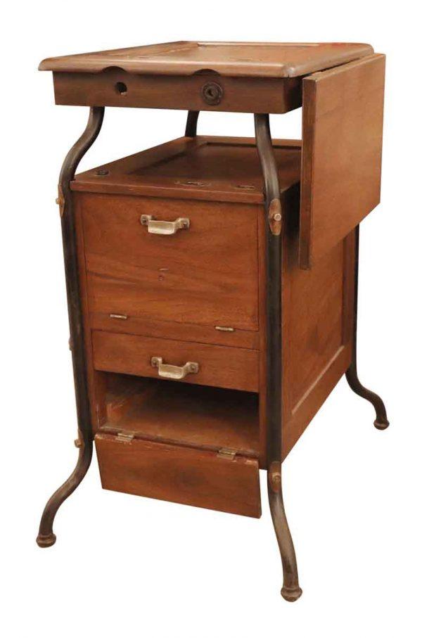 Cabinets - Unusual Wooden Cabinet for Gestetner Duplicator Machine
