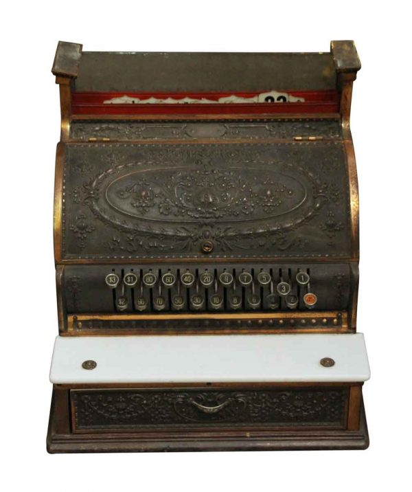 Cash Registers - Bronze Decorative National Cash Register