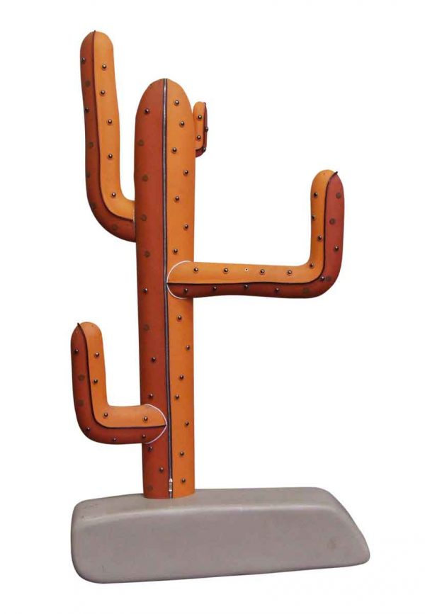 Commercial Furniture - Leather Cactus Statue