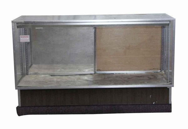 Commercial Furniture - Reclaimed Aluminum & Wooden Showcase