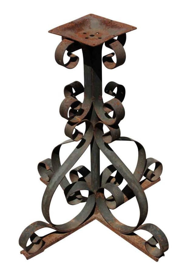Decorative Metal - Curly Wrought Iron Table Base