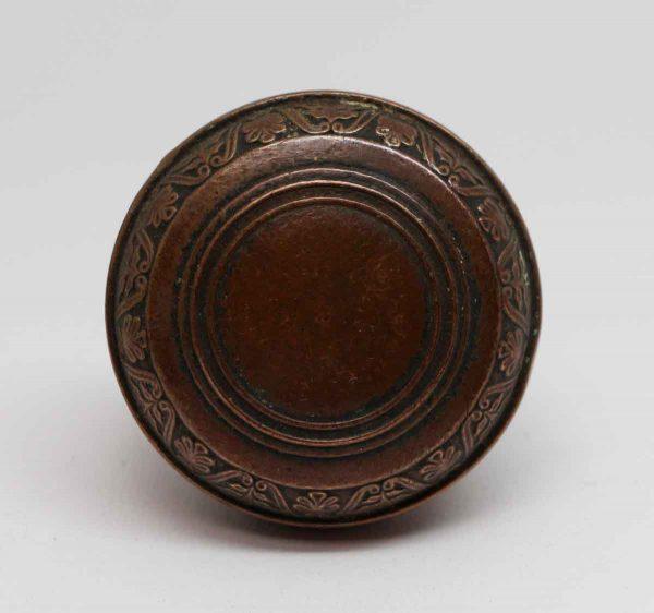 Door Knobs - Antique Bronze Union Central Life Insurance Door Knob Set