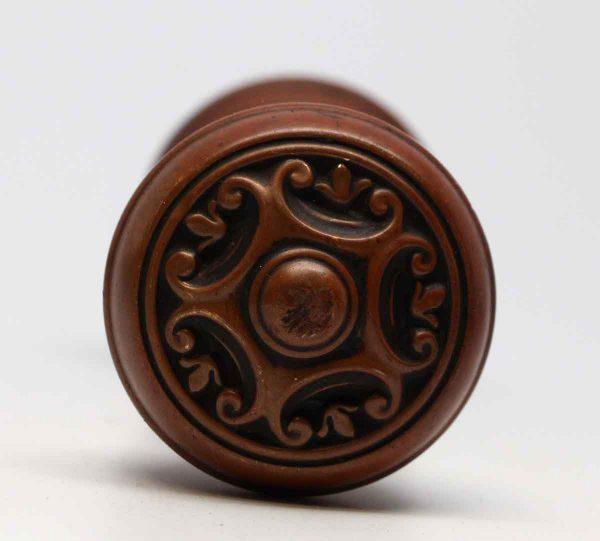 Door Knobs - Penn Hardware Five Fold Bronze Renard Door Knob Set