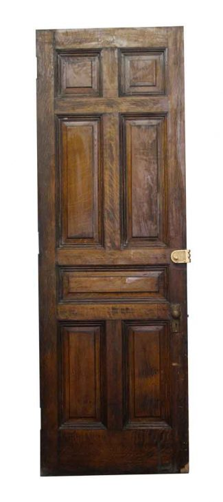 American Chestnut Seven Panel Door
